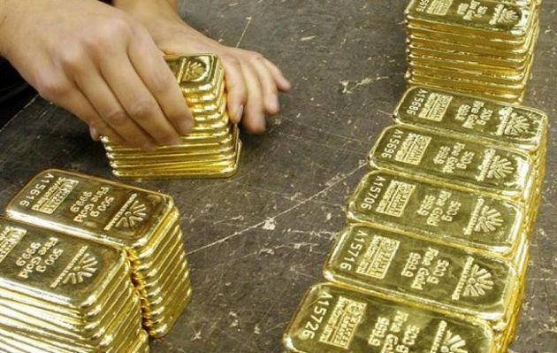 قیمت طلا به ۱۲۴۸ دلار رسید