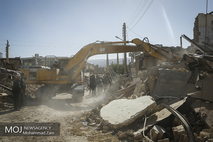 «سرپل ذهاب» 2 روز پس از زلزله