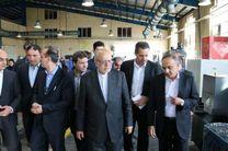 با حضور وزیر صنعت چند طرح در کرمانشاه افتتاح شد
