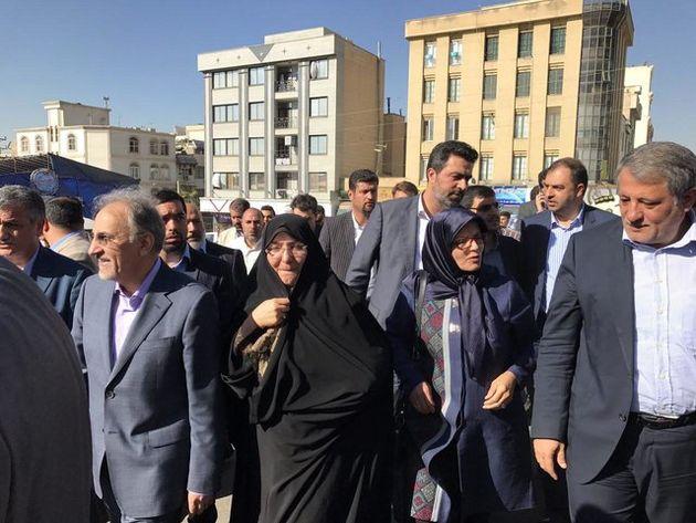 بازدید شهردار و اعضای شورای شهر تهران از مراکز عرضه بهداشتی دام