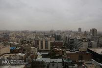 کیفیت هوای تهران در اولین روز بهمن ناسالم است