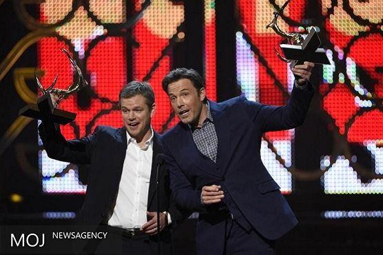 مت دیمون و بن افلک مردان خوب دهه شدند / دریافت جایزه طلایی