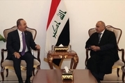 وزیر خارجه ترکیه با مقام های ارشد عراقی دیدار و گفتگو کرد