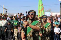 مراسم رژه نیروهای مسلح در کهگیلویه و بویراحمد برگزار شد(+تصاویر)