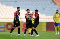 نتیجه بازی پرسپولیس و نفت مسجدسلیمان در نیمه نخست