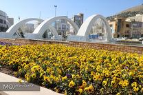 گل کاری 20 هزار متر مربعی در شهرداری منطقه سه