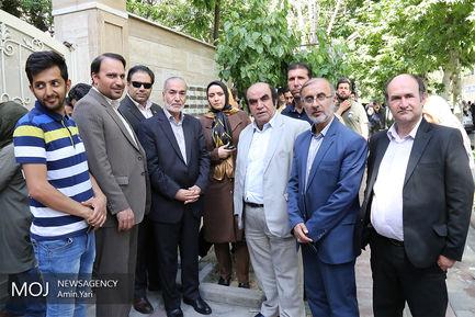 ساعات پایانی انتخابات در حسینیه ارشاد