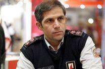 آماده باش سازمان آتش نشانی در پی وقوع زلزله در تهران