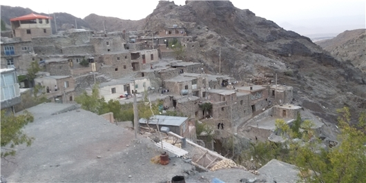 تخلیه اضطراری تعدادی از منازل روستای میرده در شهرستان سقز