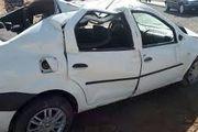 3 مصدوم دراثر واژگونی یک سواری ال 90 در اصفهان