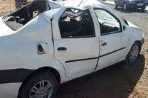 واژگونی مرگبار سواری ال ۹۰ در اتوبان کاشان - بادرود
