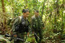 جنگجویان زن عضو فارک در کلمبیا + عکس