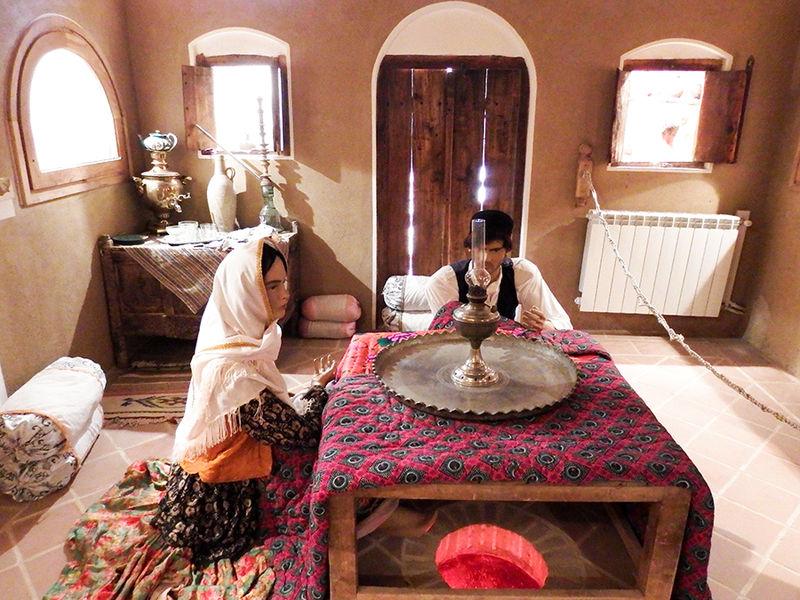 مرحله دوم موزه مردم شناسی شهر برزک کاشان افتتاح شد
