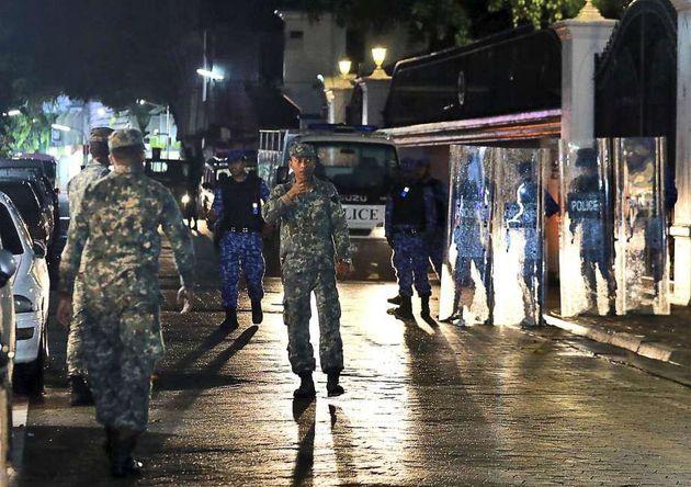 در مالدیو وضعیت فوق العاده اعلام شد