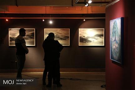 بازدید وزیر فرهنگ از بخش رقابتی جشنواره هنرهای تجسمی فجر