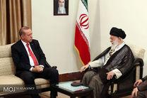 اردوغان با رهبر معظم انقلاب دیدار کرد