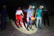 امدادرسانی به مصدوم آسیب دیده براثر سقوط از ارتفاع در خورگو