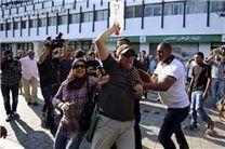 تجمع دانشجویان تونس در اعتراض به «خشونت پلیس»