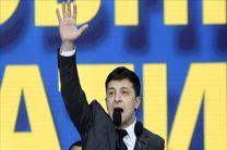 پیروزی یک کمدین در انتخابات ریاست جمهوری اوکراین