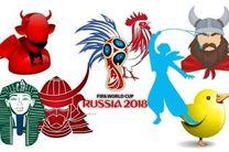 نماد و القاب 32 تیم حاضر در جام جهانی