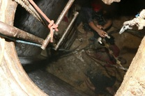 یک کشته و 3 مجروح  در مسمومیت با گاز چاه فاضلاب در مبارکه