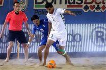 ۱۵ بازیکن به اردوی تیم ملی فوتبال ساحلی دعوت شدند