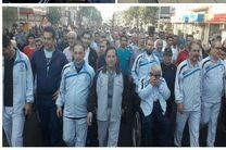برگزاری همایش پیاده روی خانوادگی میلاد باسعادت امام رضا (ع) باحضور چشمگیر مردم در رشت