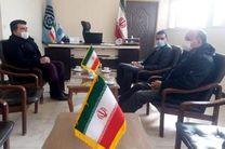 جلسه هم اندیشی رئیس مرکز آموزش فنی وحرفه ای شهرستان برخوار با مسئولان رسانه شهرستان