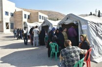 بیمارستان صحرایی ارتش اصفهان در مناطق سیل زده لرستان مستقر شدند