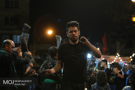 عزاداری ماه محرم در تهران