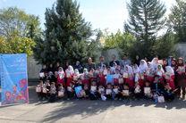 زنگ هفته ملی کودک با کودکان روستای سلکی سر نواخته شد
