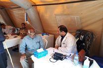 50 پزشک تاکنون 5 هزار مصدوم زلزلهزده را در بیمارستان صحرایی مداوا کردهاند