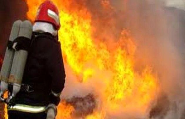 آتش سوزی در تیپ 292 زرهی شهید آزادی دزفول آسیب جانی نداشت