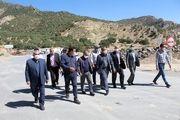 عملیات حفاری تونل دوم آزادی محور ایلام بزودی آغاز می شود