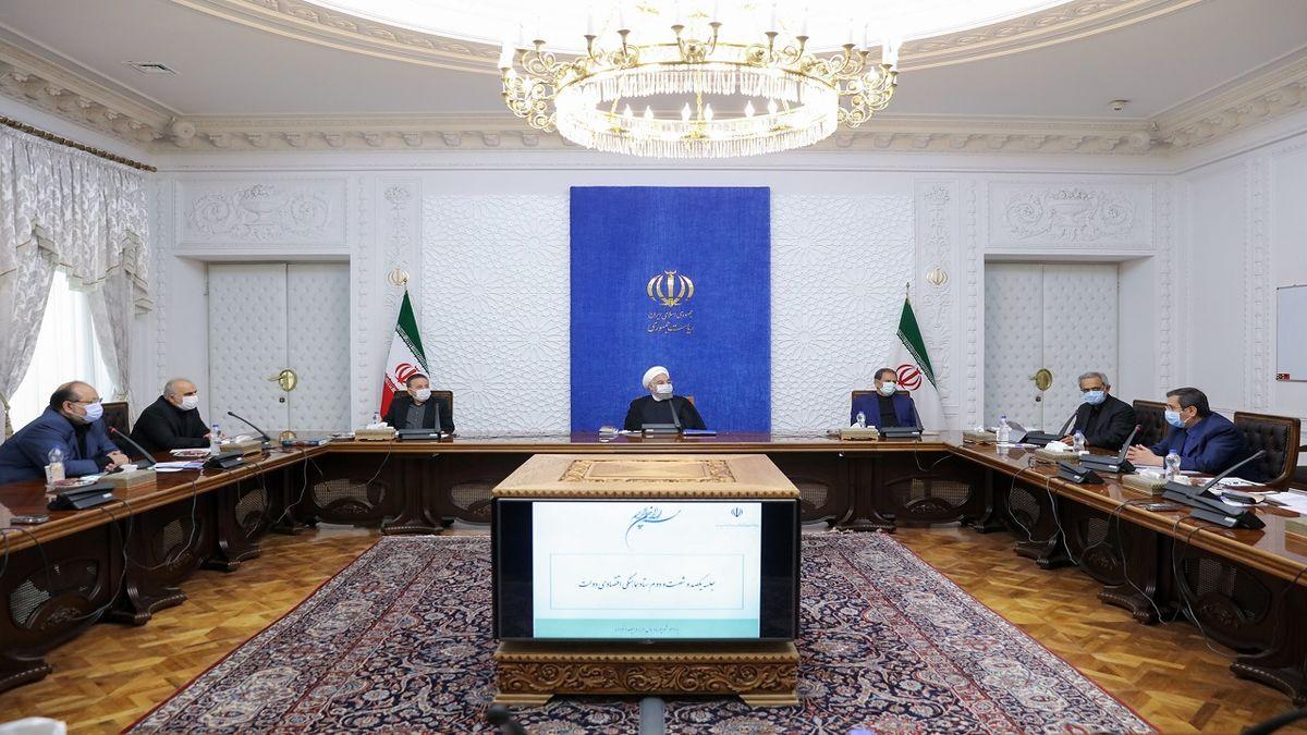 جلسه ستاد هماهنگی اقتصادی دولت به ریاست روحانی برگزار شد