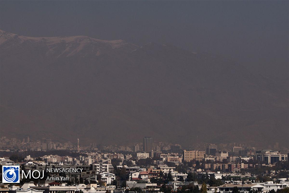 کیفیت هوای تهران ۳۰ آذر ۹۹/ شاخص کیفیت هوا به ۱۱۴ رسید