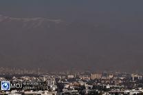 کیفیت هوای تهران در ۲ آذر ۹۸ ناسالم است