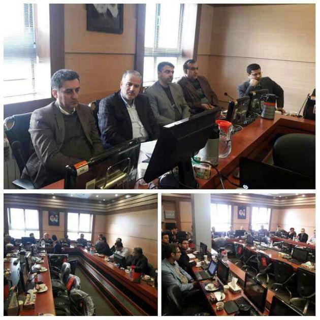 جلسه کارگروه تخصصی پدافند غیرعامل راه و شهرسازی گیلان برگزار شد