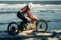 موتورسیکلتی که با روغن جلبک کار میکند