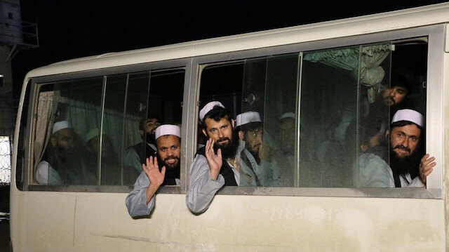 The US welcomed prisoners' exchange between Taliban and Afghan government
