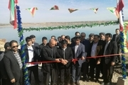 طرحهای عمران شهری و کشاورزی در قصرشیرین افتتاح شد