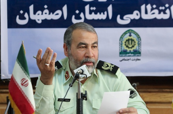 اصفهان رتبه نخست کاهش تصادفات کشور در نوروز را به دست آورد