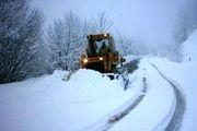 تمام راههای روستایی کرمانشاه پس از بارش برف باز است/ رانندگان از ترددهای غیرضروری خودداری کنند