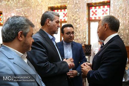 دیدار رییس گروه دوستی پارلمانی پرتغال با علی لاریجانی