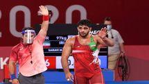 کسب نخستین مدال کشتی فرنگی توسط محمد هادی ساروی