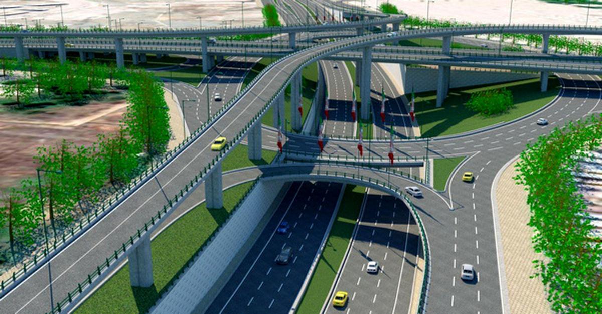 بهره برداری از مسیر آزادگان به پل پرتوی مشهد، پایان تیر ماه ۱۴۰۰ خواهد بود