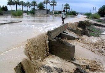 باران 12 میلیارد تومان به میناب خسارت وارد کرد