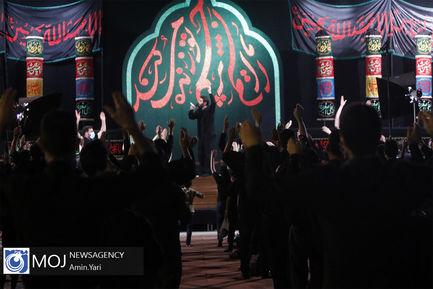 عزاداری شب سوم ماه محرم در دانشگاه امام علی (ع)