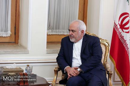 دیدار نماینده ویژه رییس جمهور افغانستان با ظریف1