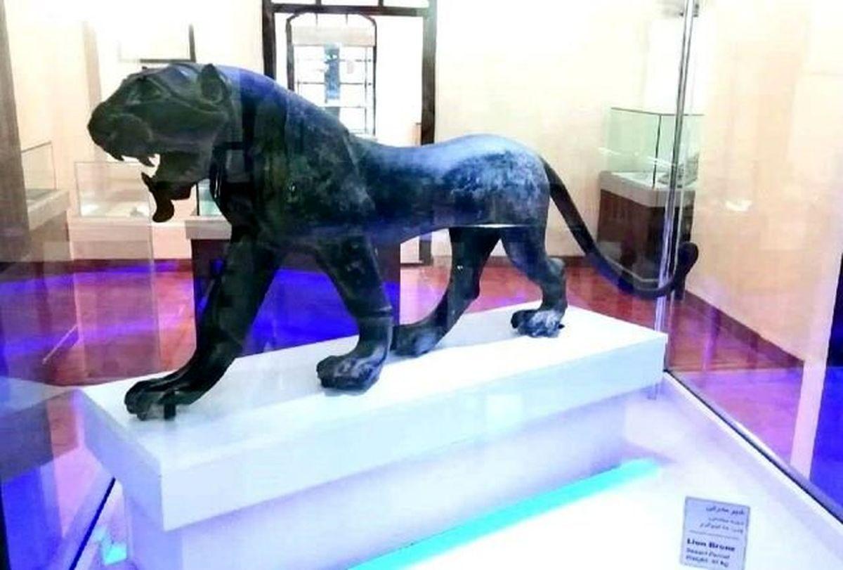 مجسمه شیر برنزی پس از ۳۷ سال به هرمزگان باز میگردد
